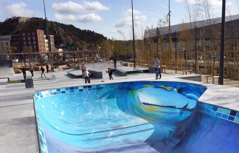 skate park «Eléis» Cherbourg
